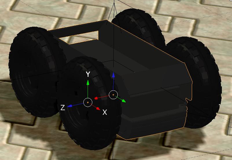 Accurate Vehicle Simulation in Blender/Morse | David Hodo's Blog